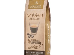 Novell Cremoso whole Bean Organic Coffee No Waste