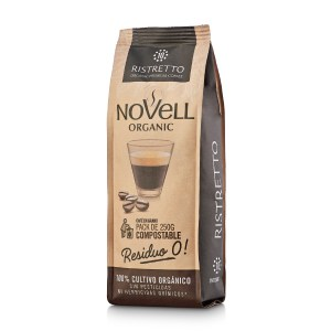 Novell Ristretto whole Beans No Waste Coffee