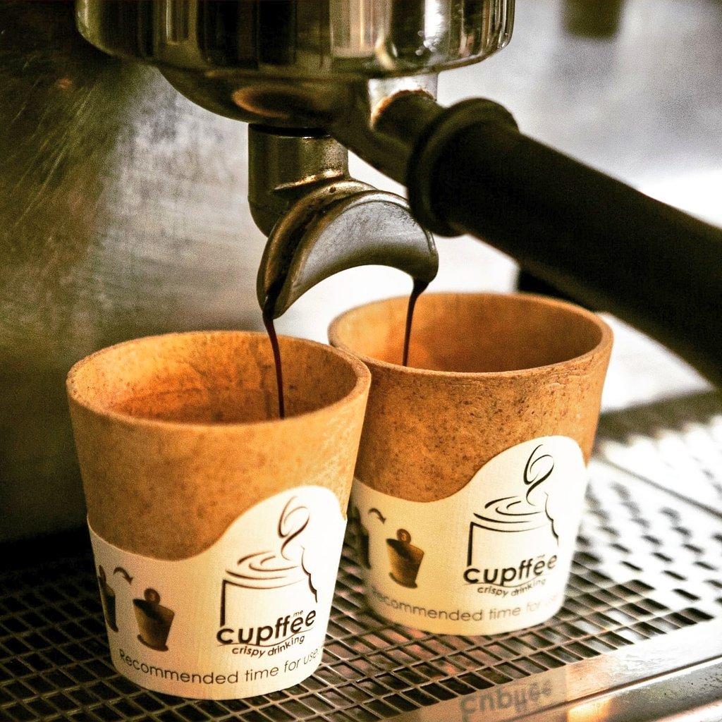 Lekkerste eetbare koffie wafelbekers