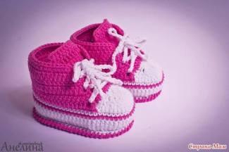 Bağcıklı Bebek Patiği Modeli Yapılışı Resimli Anlatım