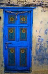 Rengarenk çiçekli kapı giriş tasarımları (11)