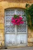 Rengarenk çiçekli kapı giriş tasarımları (2)