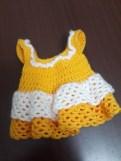 Amigurumi Bebek Elbise Örülüşü