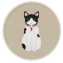 Kanaviçe Kedi (47)