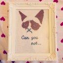 Kanaviçe Kedi (50)