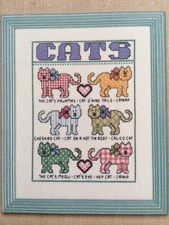Kanaviçe Kedi (59)