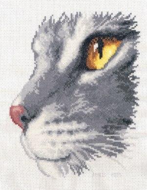Kanaviçe Kedi (7)