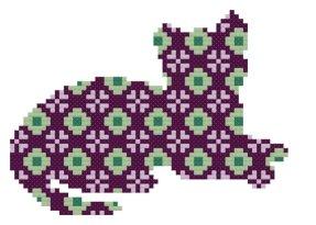Kanaviçe Kedi (79)