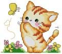 Kanaviçe Kedi (82)