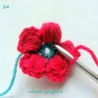 Tığ İşi Çiçek Motifi Modelleri (30)