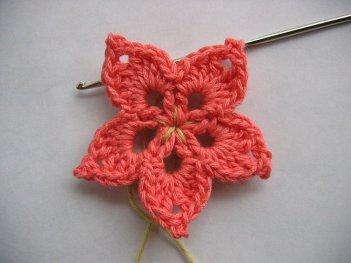 Tığ İşi Çiçek Motifi Modelleri (31)