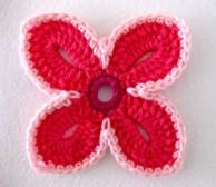 Tığ İşi Çiçek Motifi Modelleri (40)
