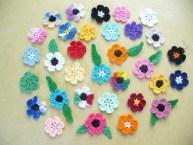 Tığ İşi Çiçek Motifi Modelleri (5)