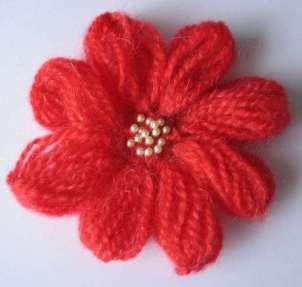 Tığ İşi Çiçek Motifi Modelleri (9)