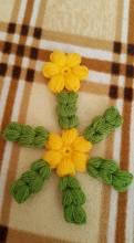 Çiçekli Lif Modeli Yapılışı (14)