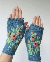 Bayan örgü eldiven modelleri 2016 (1)