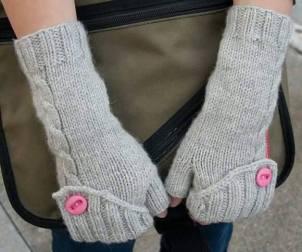 Bayan örgü eldiven modelleri 2016 (2)