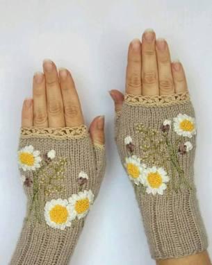 Bayan örgü eldiven modelleri 2016 (9)