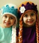 Elsa Örgü Bere Modeli Frozen Hat Crochet (29)