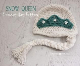 Elsa Örgü Bere Modeli Frozen Hat Crochet (32)