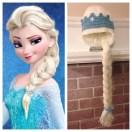 Elsa Örgü Bere Modeli Frozen Hat Crochet (35)