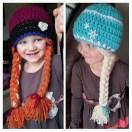 Elsa Örgü Bere Modeli Frozen Hat Crochet (36)