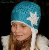 Elsa Örgü Bere Modeli Frozen Hat Crochet (46)