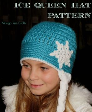 Elsa Örgü Bere Modeli Frozen Hat Crochet (48)