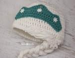 Elsa Örgü Bere Modeli Frozen Hat Crochet (5)