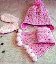 Çocuk Şapka-Atkı Modelleri