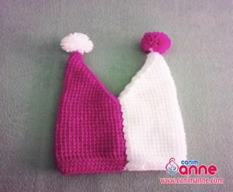 Tunus İşi Şapka Modeli Yapılışı