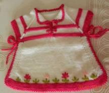 Tunus İşi Bebek Hırka Modelleri (17)