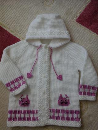 Tunus İşi Bebek Hırka Modelleri (22)