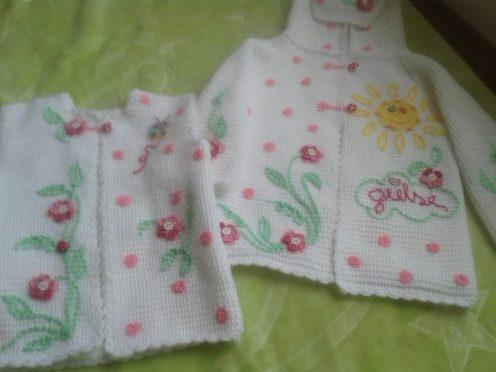Tunus İşi Bebek Hırka Modelleri (30)