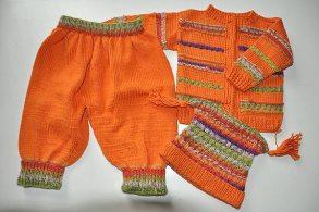 Örgü Bebek Takımları