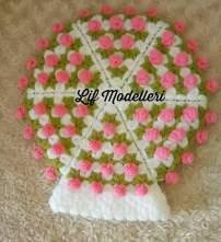 Pıtırcık çiçek lif modeli