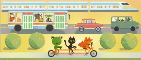 Bugün araç kullanmayın, yürüyüş yapın ve bisiklete binin..