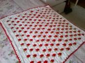 Kadife İpten Battaniye Yapımı