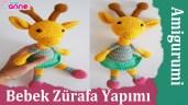 Amigurumi Bebek Zürafa