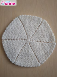 Yuvarlak lif yapımı - Kolay yuvarlak lif modeli (1)