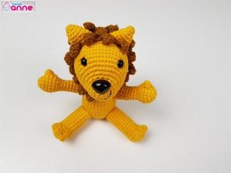 Amigurumi aslan yapımı