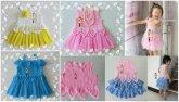 Bebek Yazlık Örgü Elbise Modelleri-20