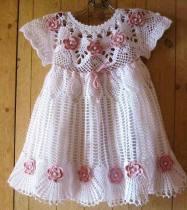 Bebek Yazlık Örgü Elbise Modelleri-6