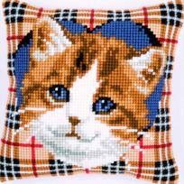 Kanaviçe (Etamin) Kedi Şablonları (41)