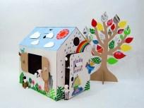 Kartondan Ev Yapımı-12