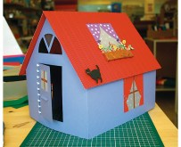 Kartondan Ev Yapımı-13