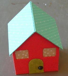 Kartondan Ev Yapımı-14