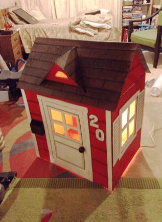 Kartondan Ev Yapımı-3