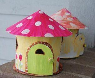 Kartondan Ev Yapımı-8