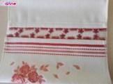 Kel mekik iğne oyası havlu kenarı